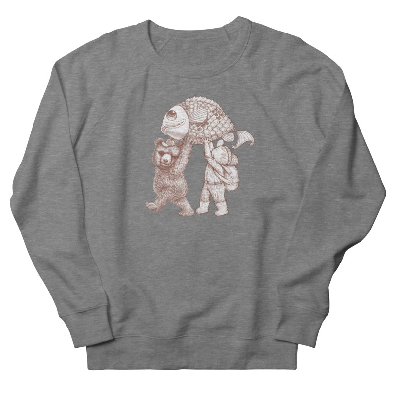 big fish Men's Sweatshirt by makapa's Artist Shop