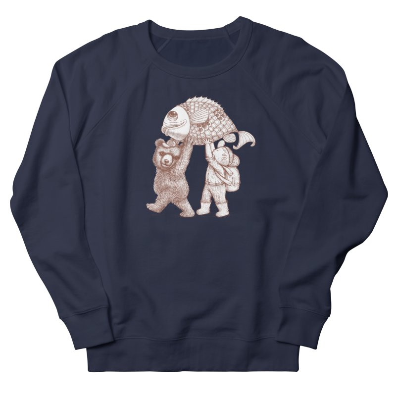 big fish Men's Sweatshirt by makapa's Artist Shop