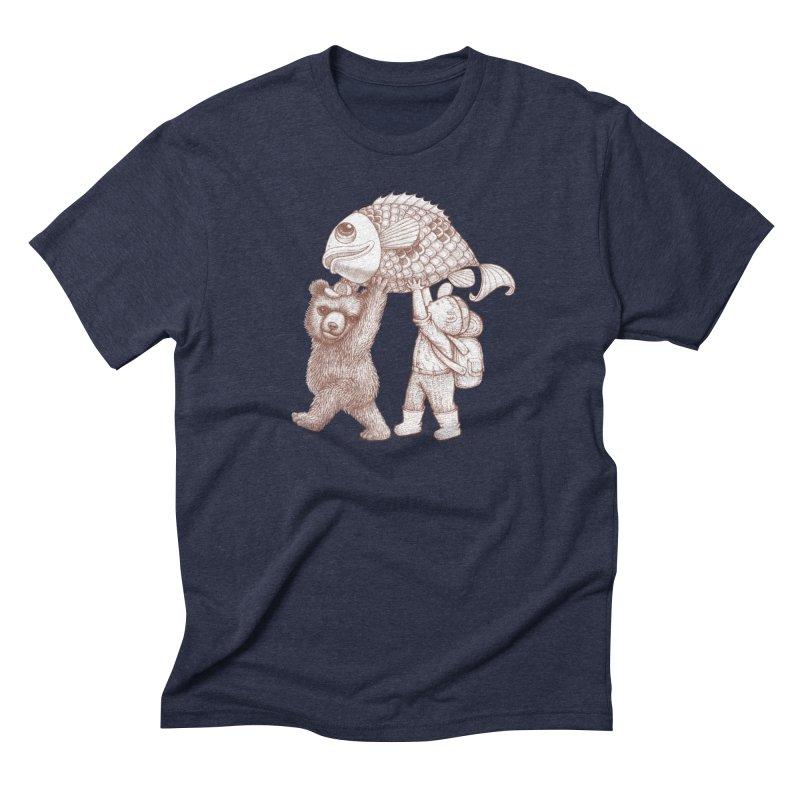 big fish Men's Triblend T-Shirt by makapa's Artist Shop