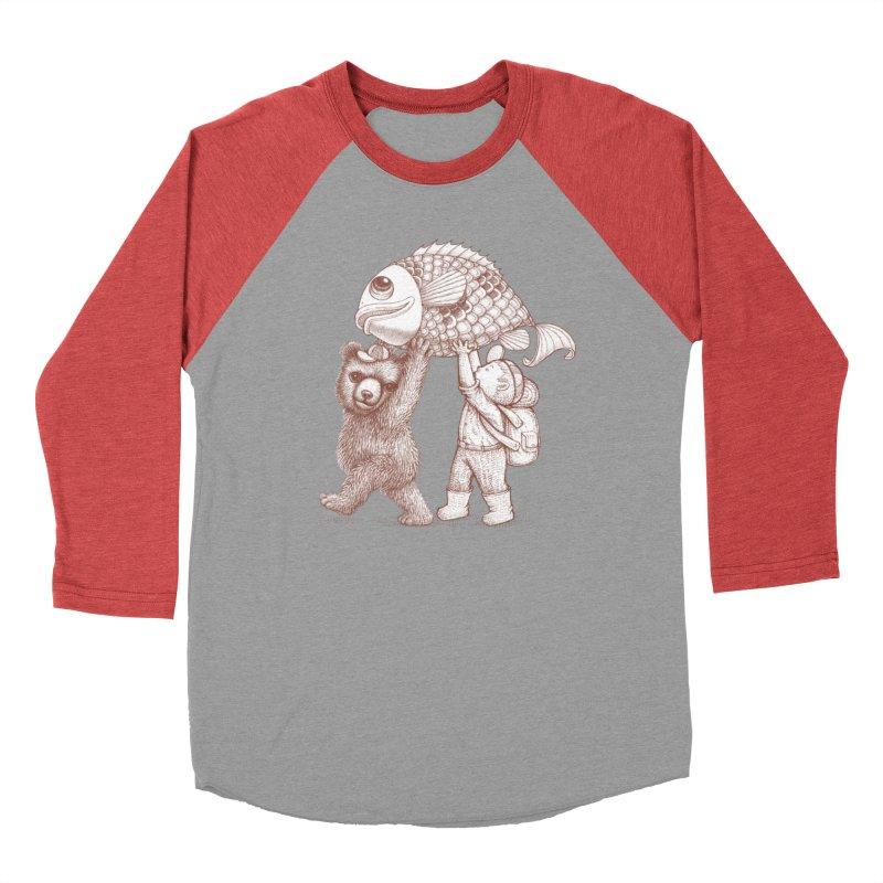 big fish Men's Longsleeve T-Shirt by makapa's Artist Shop