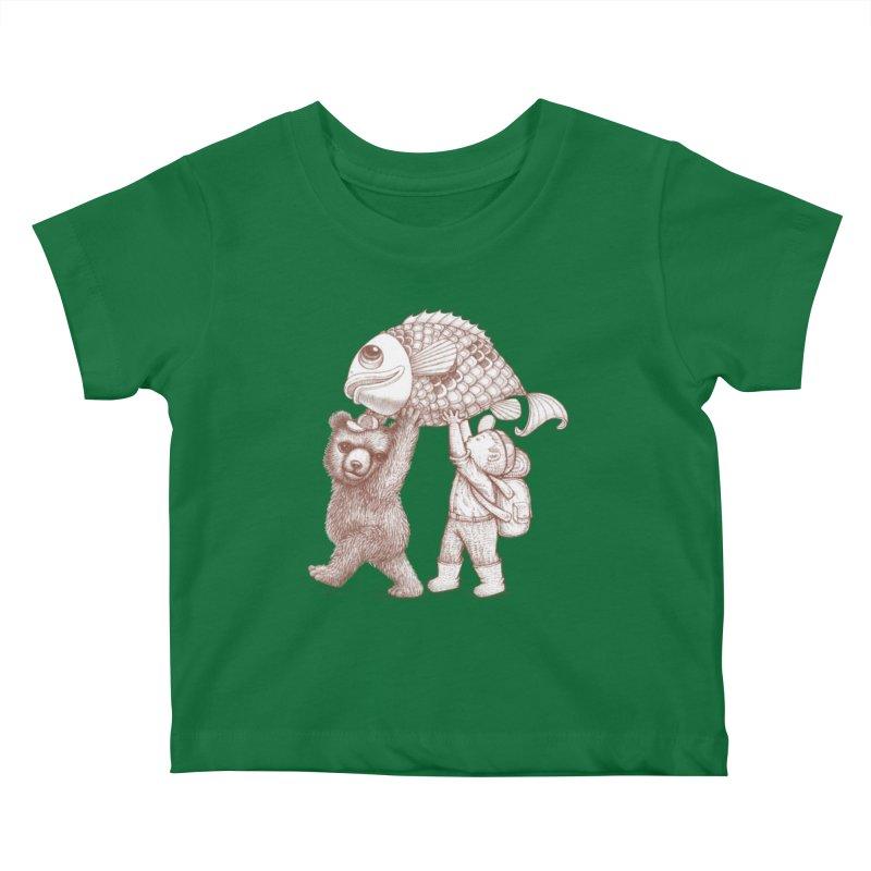 big fish Kids Baby T-Shirt by makapa's Artist Shop