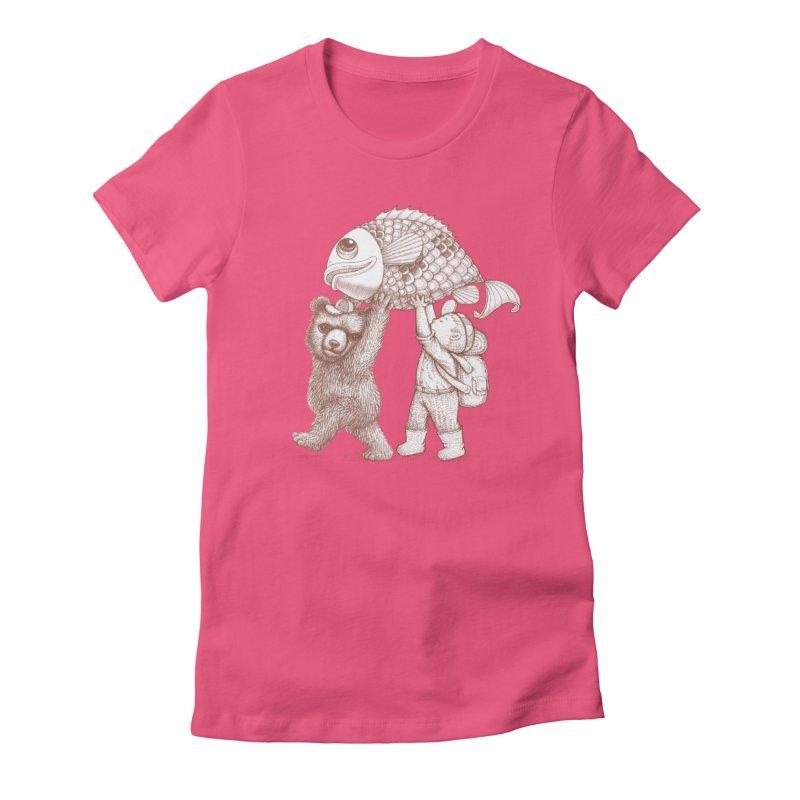 big fish Women's T-Shirt by makapa's Artist Shop