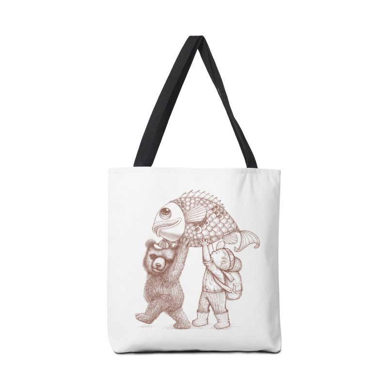 big fish Accessories Tote Bag Bag by makapa's Artist Shop