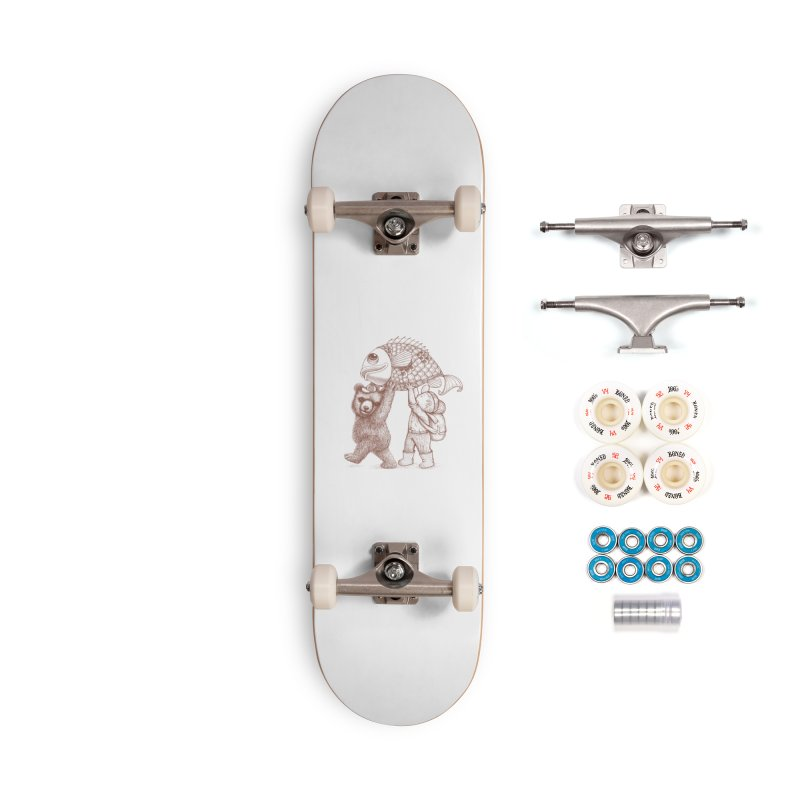 big fish Accessories Complete - Premium Skateboard by makapa's Artist Shop
