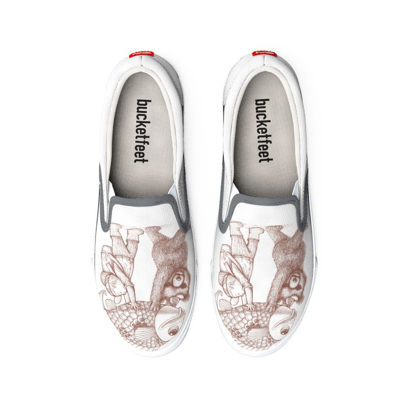 big fish Men's Shoes by makapa's Artist Shop