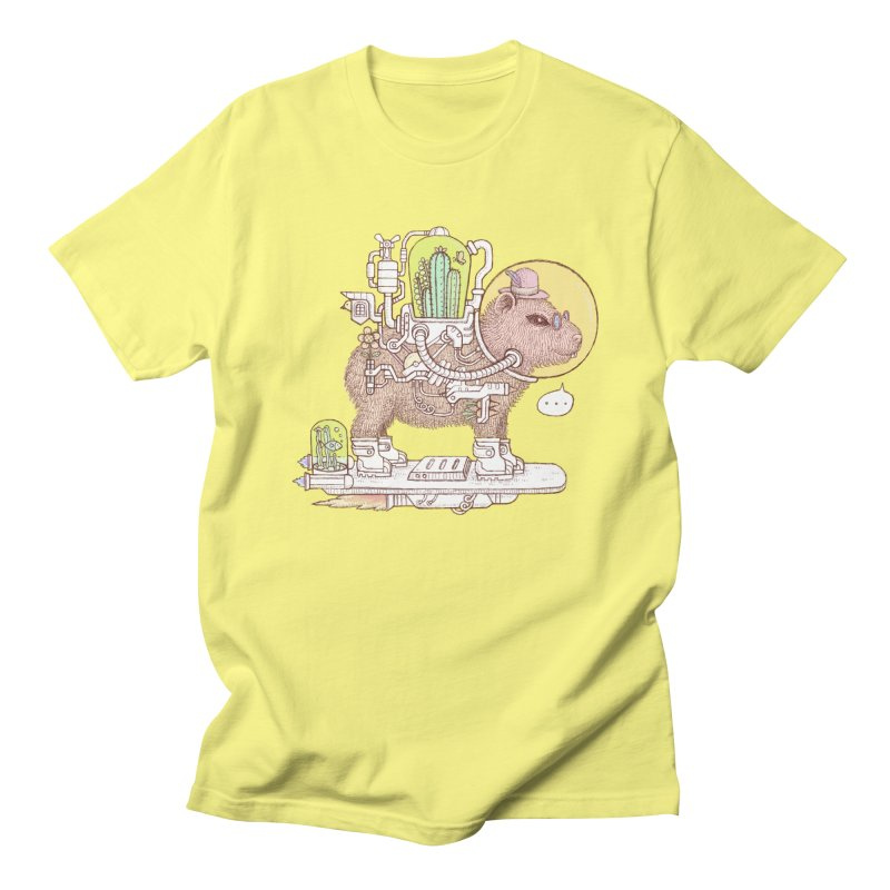 capybara space suit Women's Regular Unisex T-Shirt by makapa's Artist Shop