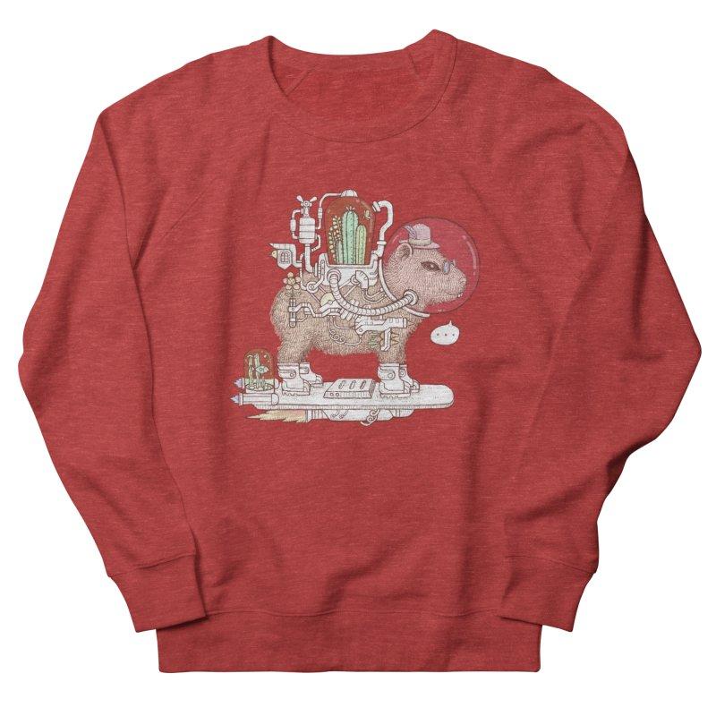 capybara space suit Women's French Terry Sweatshirt by makapa's Artist Shop
