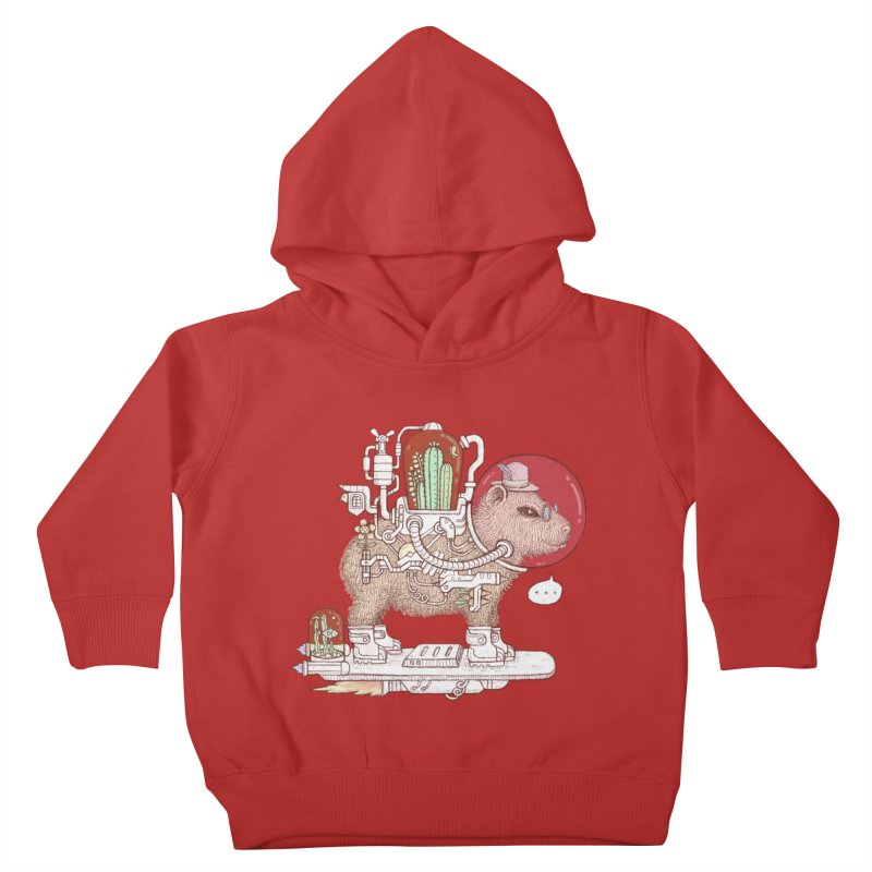 capybara space suit Kids Toddler Pullover Hoody by makapa's Artist Shop
