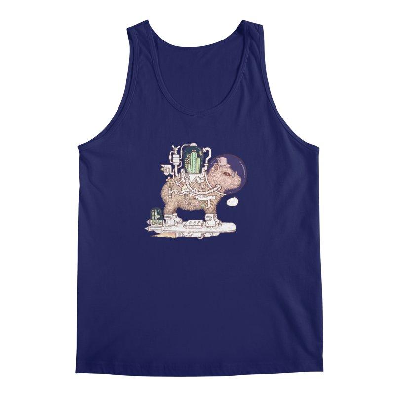 capybara space suit Men's Regular Tank by makapa's Artist Shop