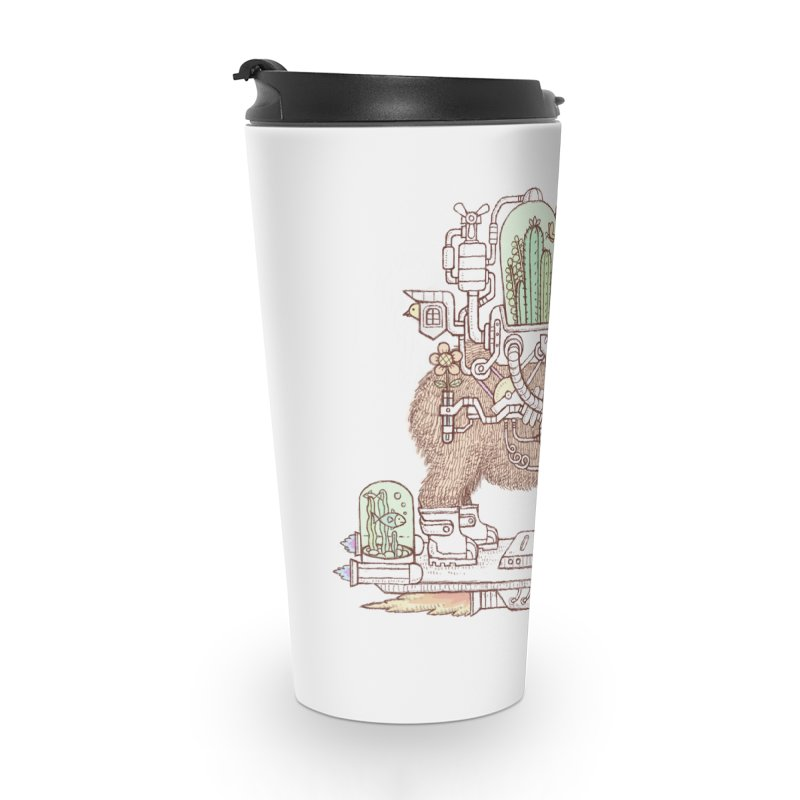capybara space suit Accessories Travel Mug by makapa's Artist Shop