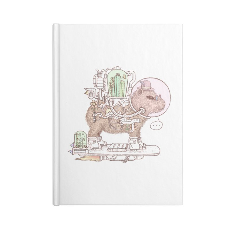 capybara space suit Accessories Lined Journal Notebook by makapa's Artist Shop