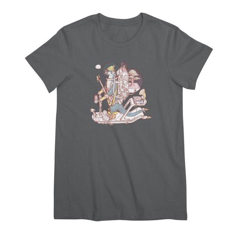 Otter space suit Women's T-Shirt by makapa's Artist Shop