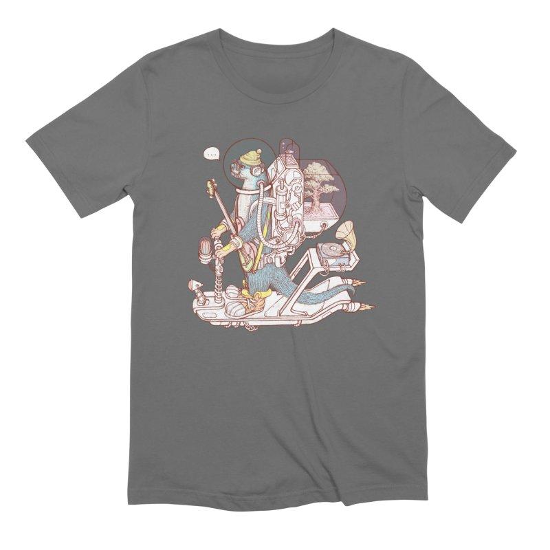 Otter space suit Men's Extra Soft T-Shirt by makapa's Artist Shop