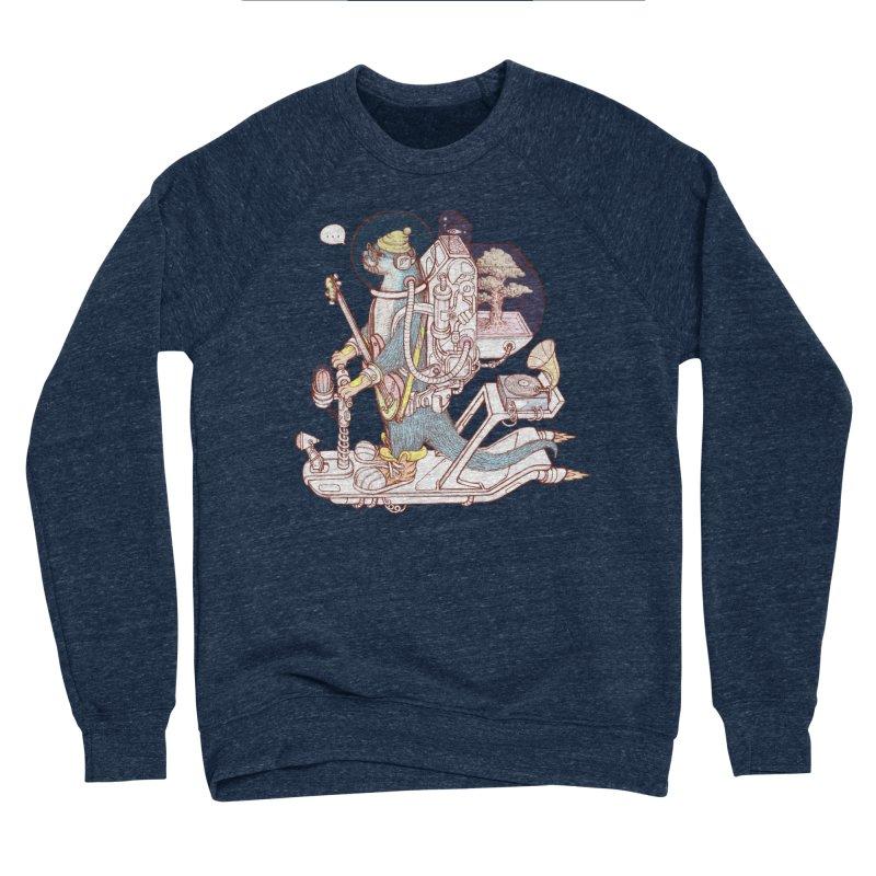Otter space suit Women's Sponge Fleece Sweatshirt by makapa's Artist Shop