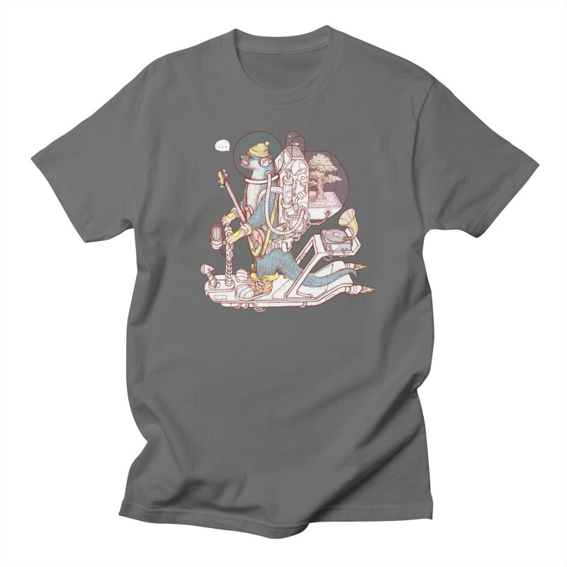 Otter space suit Men's T-Shirt by makapa's Artist Shop