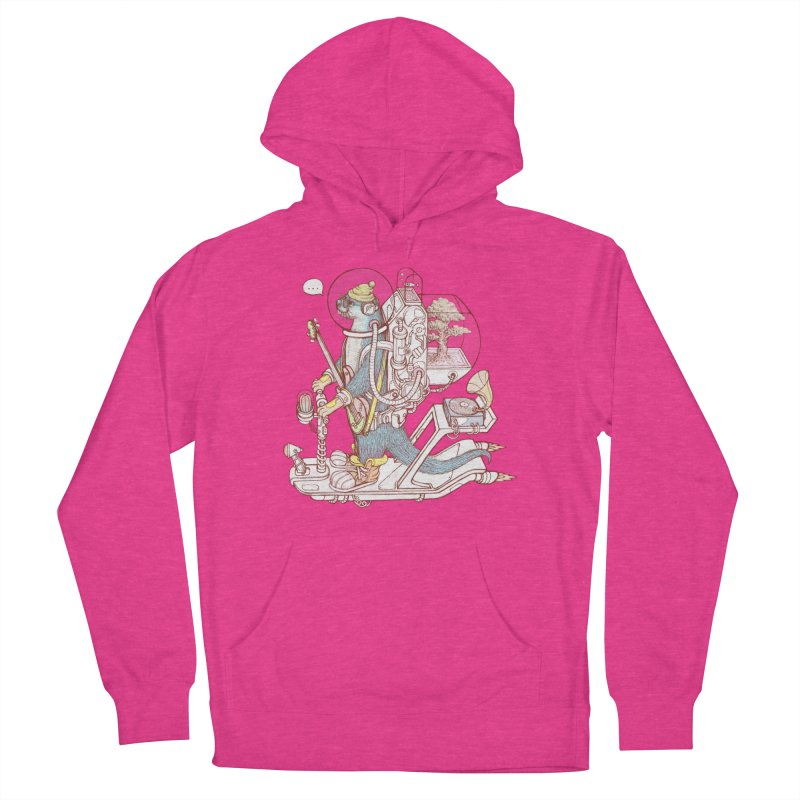 Otter space suit Women's French Terry Pullover Hoody by makapa's Artist Shop
