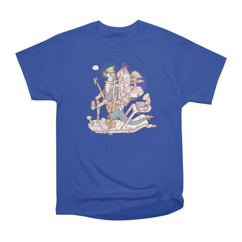Otter space suit Women's Heavyweight Unisex T-Shirt by makapa's Artist Shop