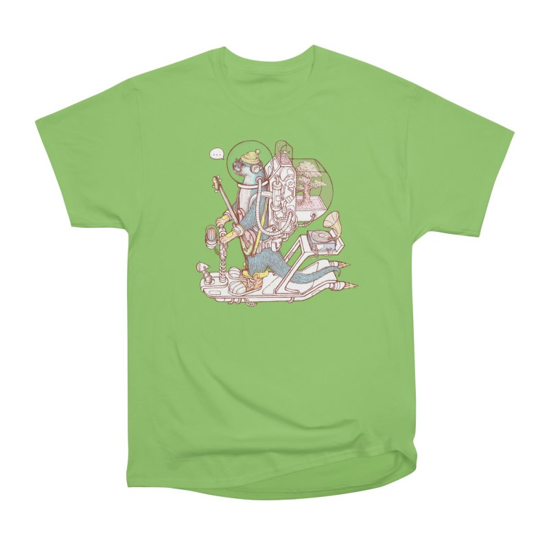 Otter space suit Men's Heavyweight T-Shirt by makapa's Artist Shop