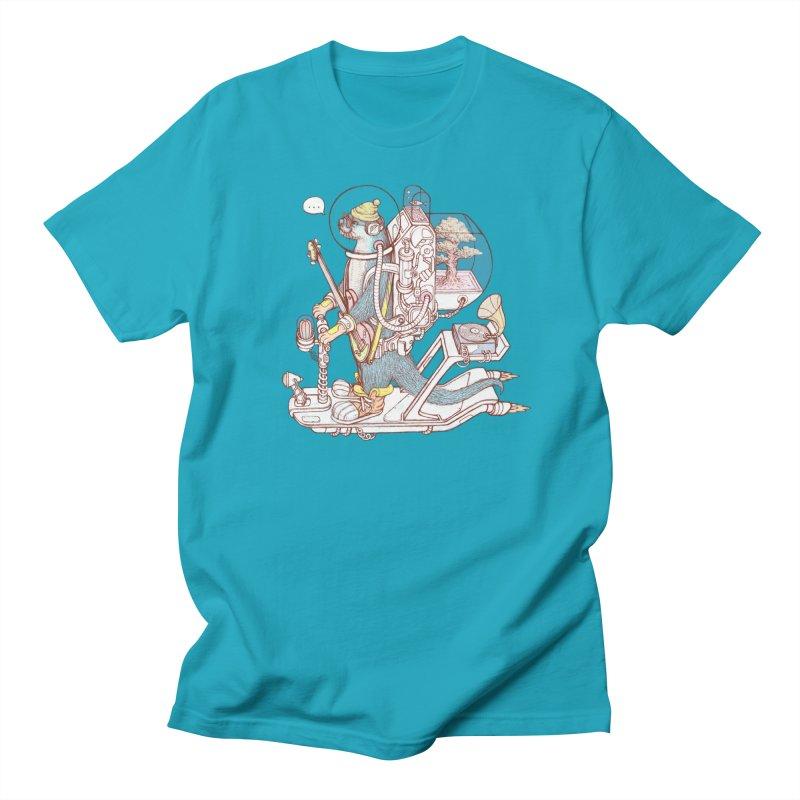 Otter space suit Women's Regular Unisex T-Shirt by makapa's Artist Shop