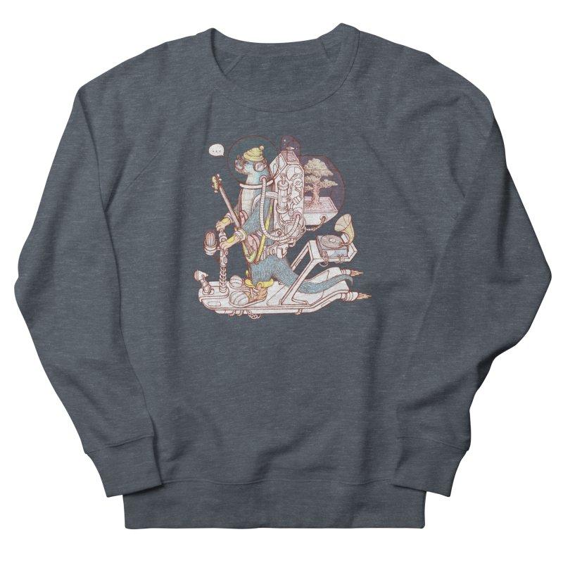 Otter space suit Women's French Terry Sweatshirt by makapa's Artist Shop