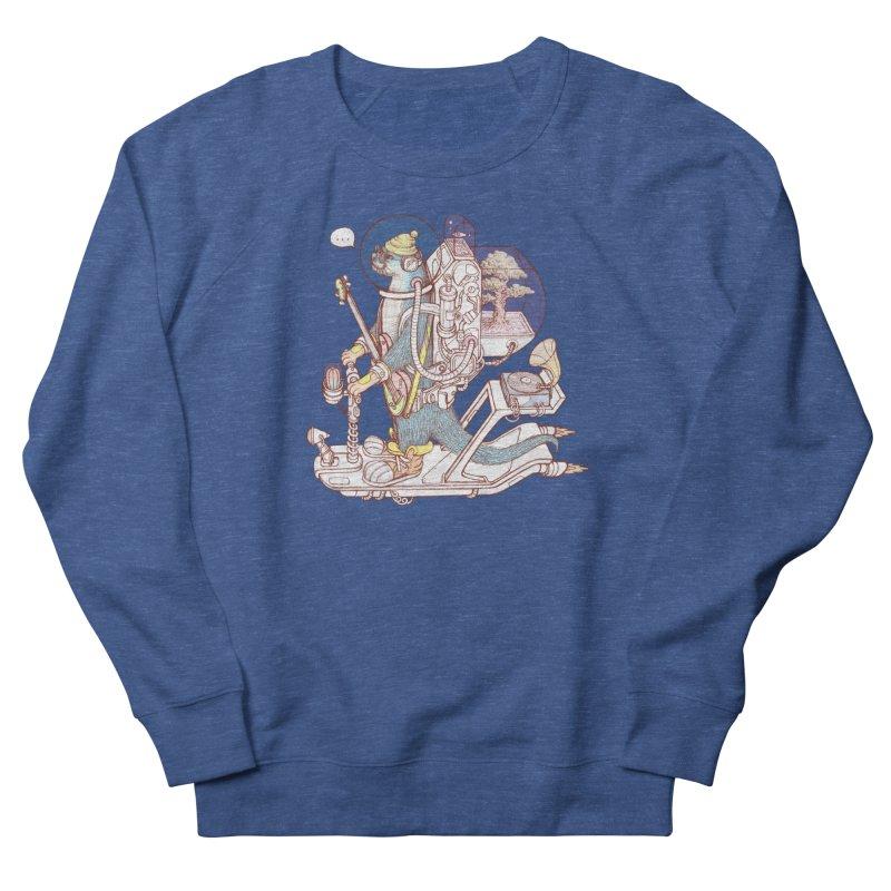 Otter space suit Men's French Terry Sweatshirt by makapa's Artist Shop