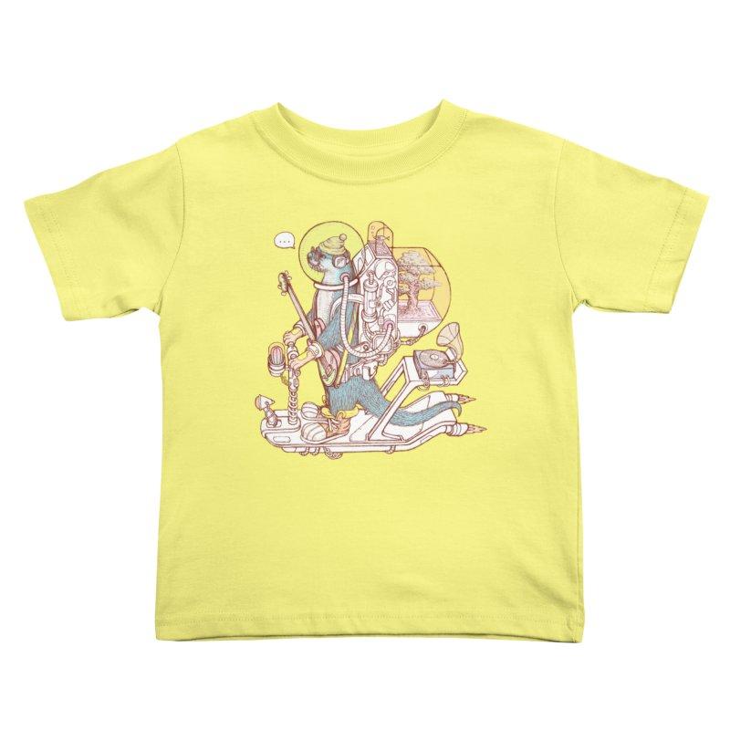 Otter space suit Kids Toddler T-Shirt by makapa's Artist Shop