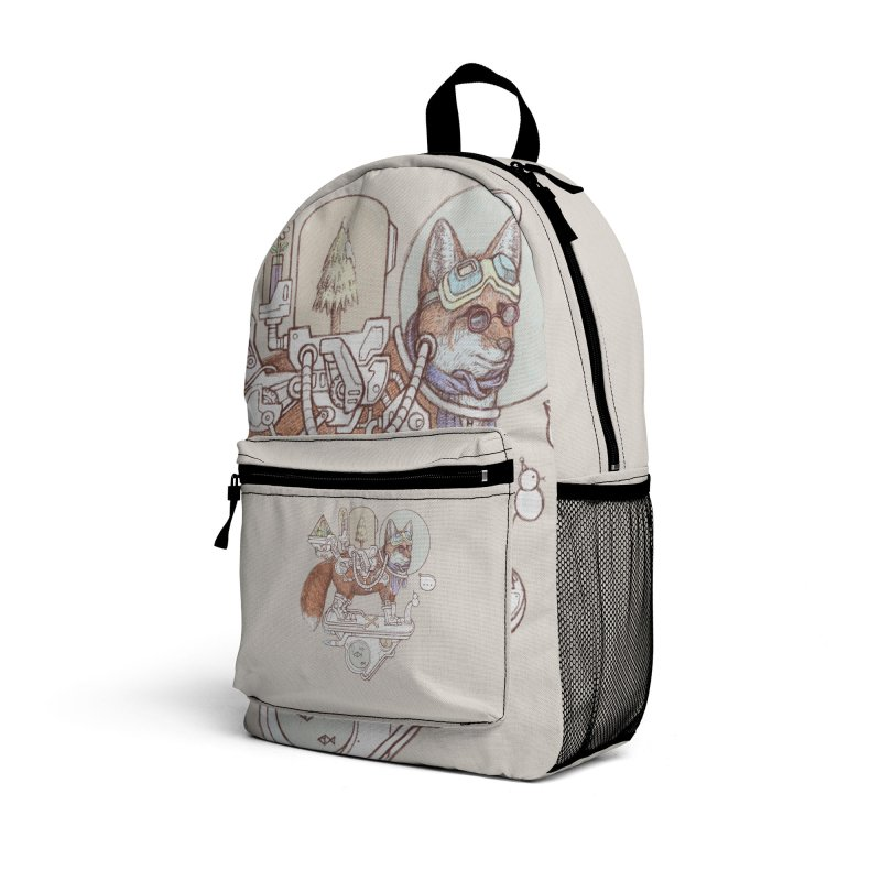 fox space suit Accessories Bag by makapa's Artist Shop
