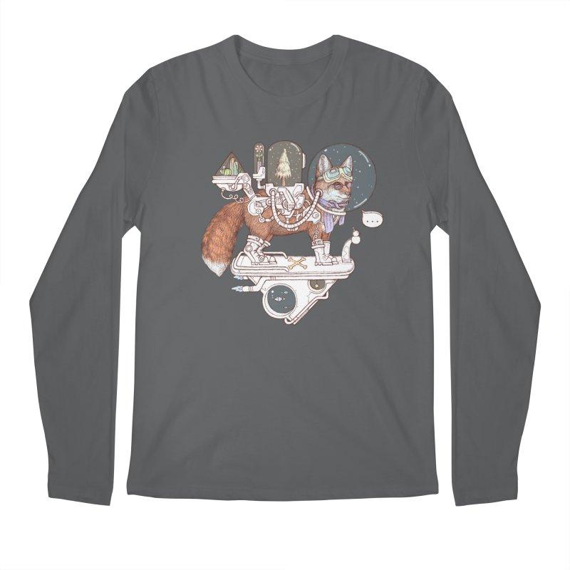 fox space suit Men's Longsleeve T-Shirt by makapa's Artist Shop