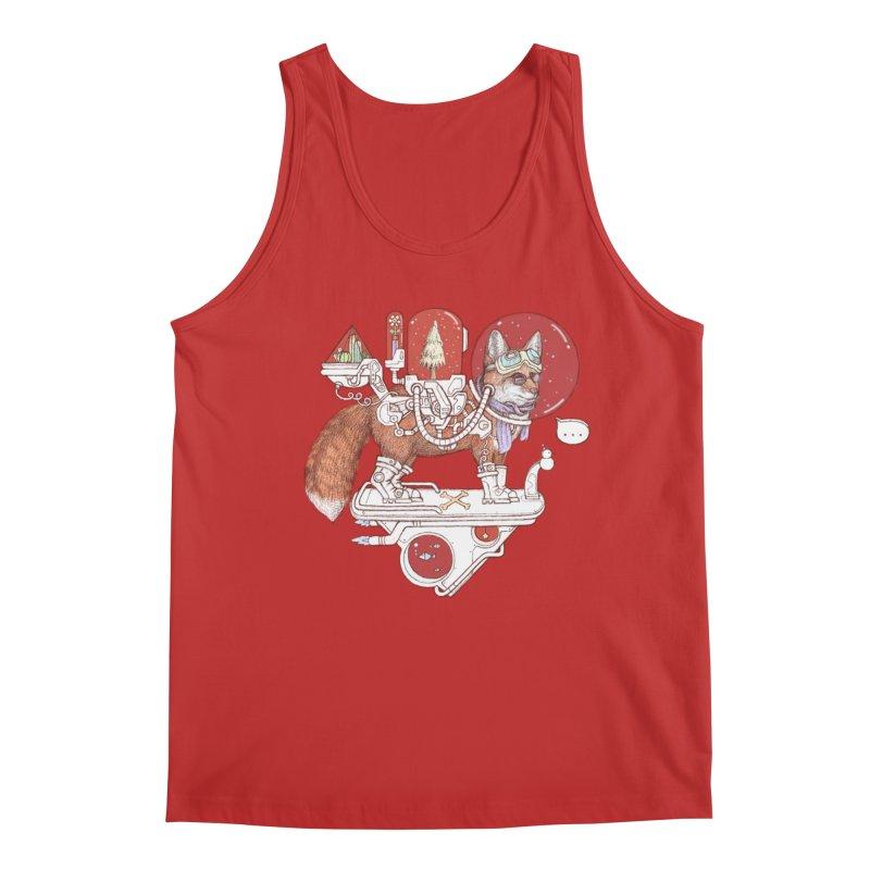 fox space suit Men's Tank by makapa's Artist Shop