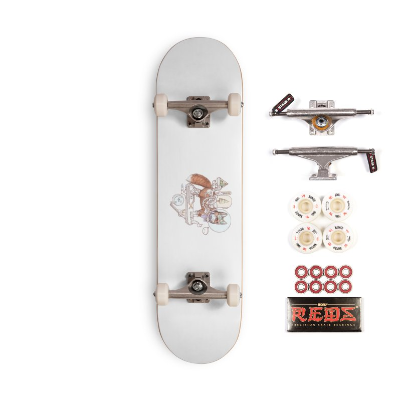 fox space suit Accessories Skateboard by makapa's Artist Shop