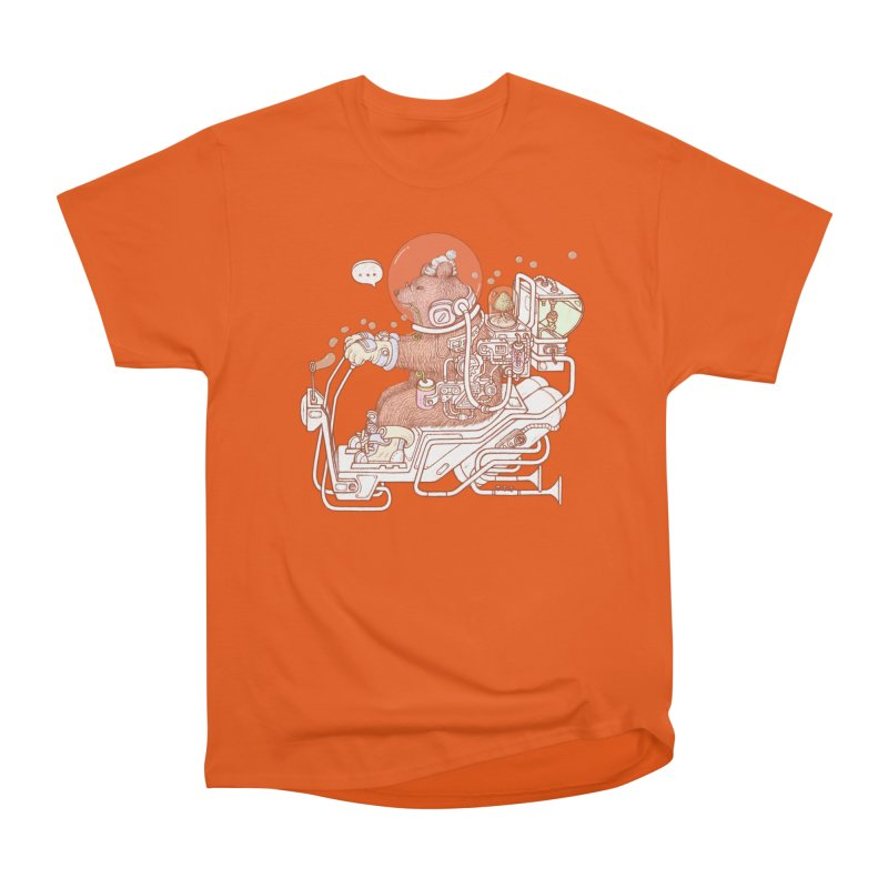 bear space suit Men's T-Shirt by makapa's Artist Shop