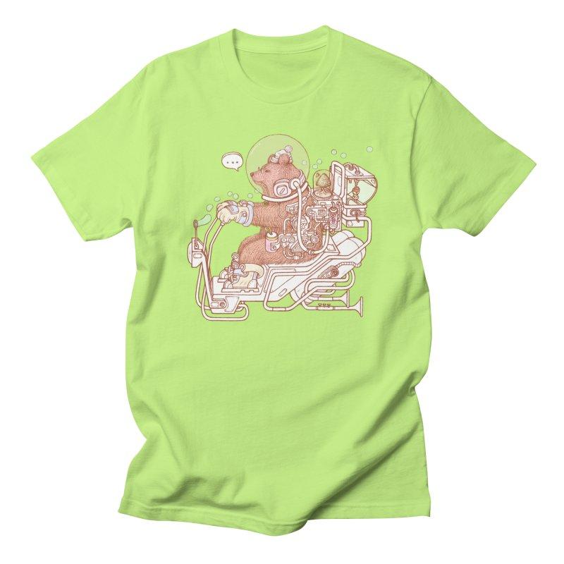 bear space suit Women's Regular Unisex T-Shirt by makapa's Artist Shop