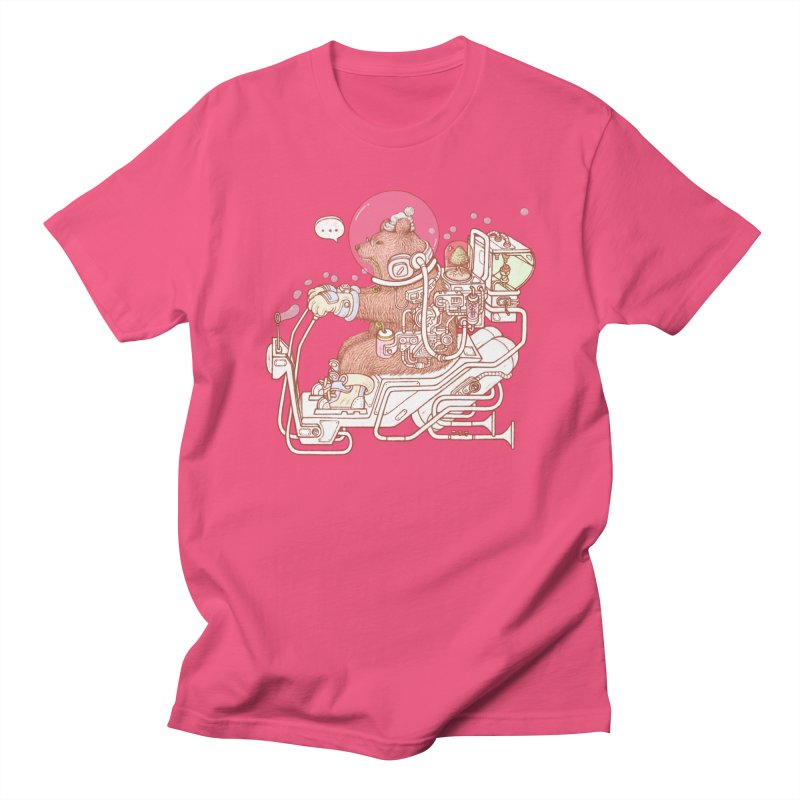 bear space suit Men's T-Shirt by makapa's Artist Shop