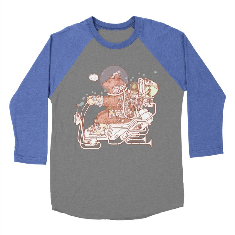 bear space suit Women's Baseball Triblend Longsleeve T-Shirt by makapa's Artist Shop