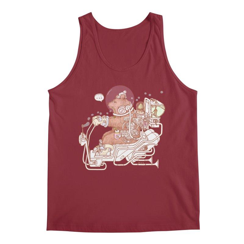 bear space suit Men's Regular Tank by makapa's Artist Shop