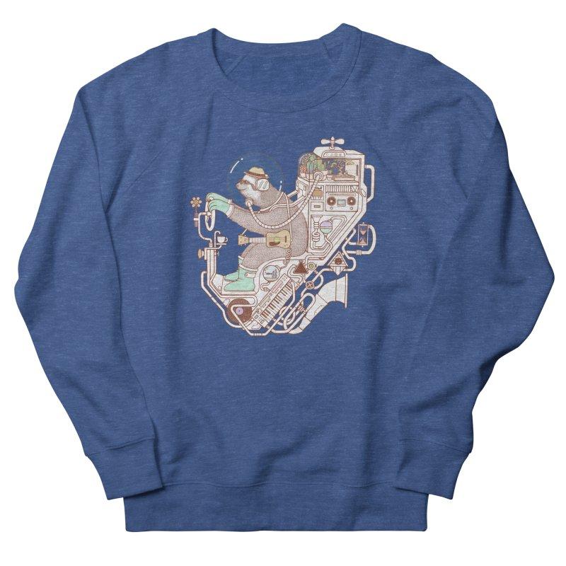 sloth machine Men's Sweatshirt by makapa's Artist Shop