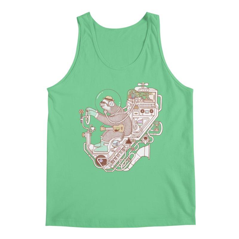 sloth machine Men's Regular Tank by makapa's Artist Shop