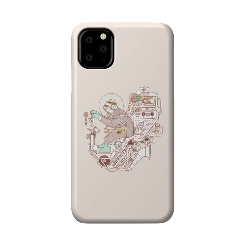 sloth machine Accessories Phone Case by makapa's Artist Shop