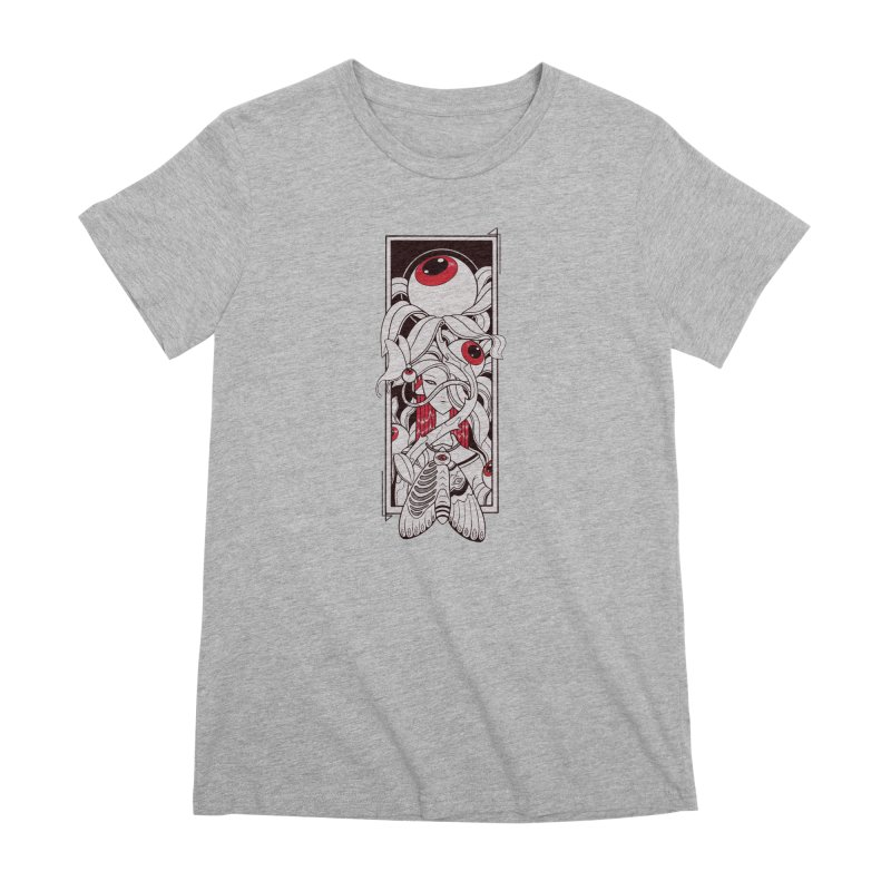 garden of anatomy Women's Premium T-Shirt by makapa's Artist Shop