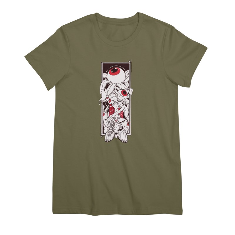 garden of anatomy Women's Premium T-Shirt by makapa's Artist Shop