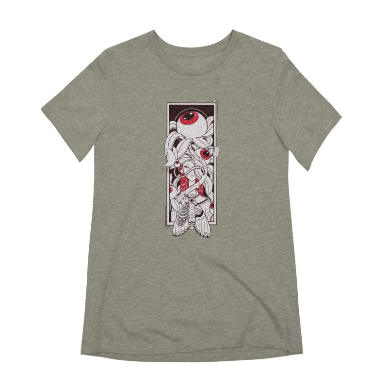 garden of anatomy Women's Extra Soft T-Shirt by makapa's Artist Shop