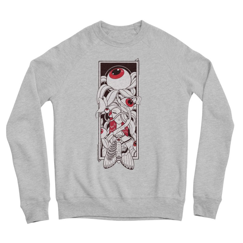 garden of anatomy Men's Sponge Fleece Sweatshirt by makapa's Artist Shop