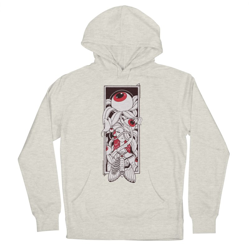 garden of anatomy Women's French Terry Pullover Hoody by makapa's Artist Shop