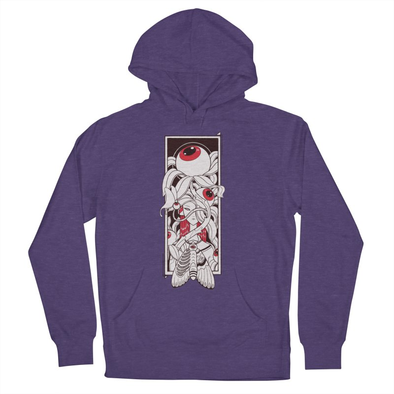 garden of anatomy Men's French Terry Pullover Hoody by makapa's Artist Shop
