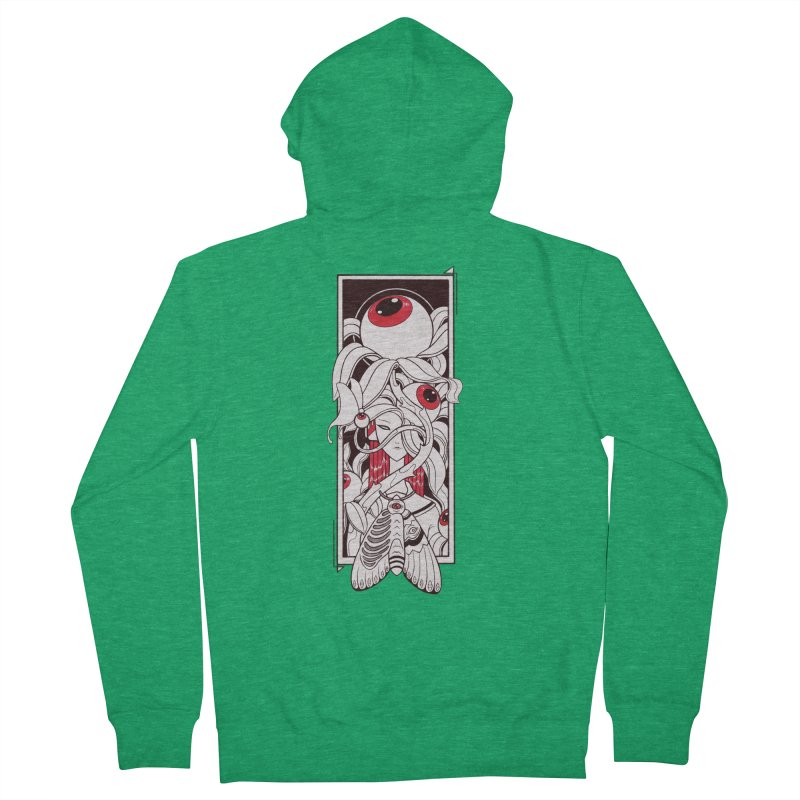 garden of anatomy Women's Zip-Up Hoody by makapa's Artist Shop