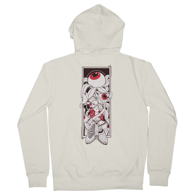 garden of anatomy Men's French Terry Zip-Up Hoody by makapa's Artist Shop