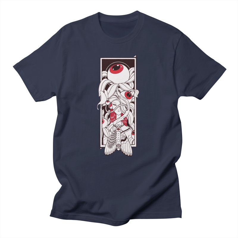 garden of anatomy Men's Regular T-Shirt by makapa's Artist Shop
