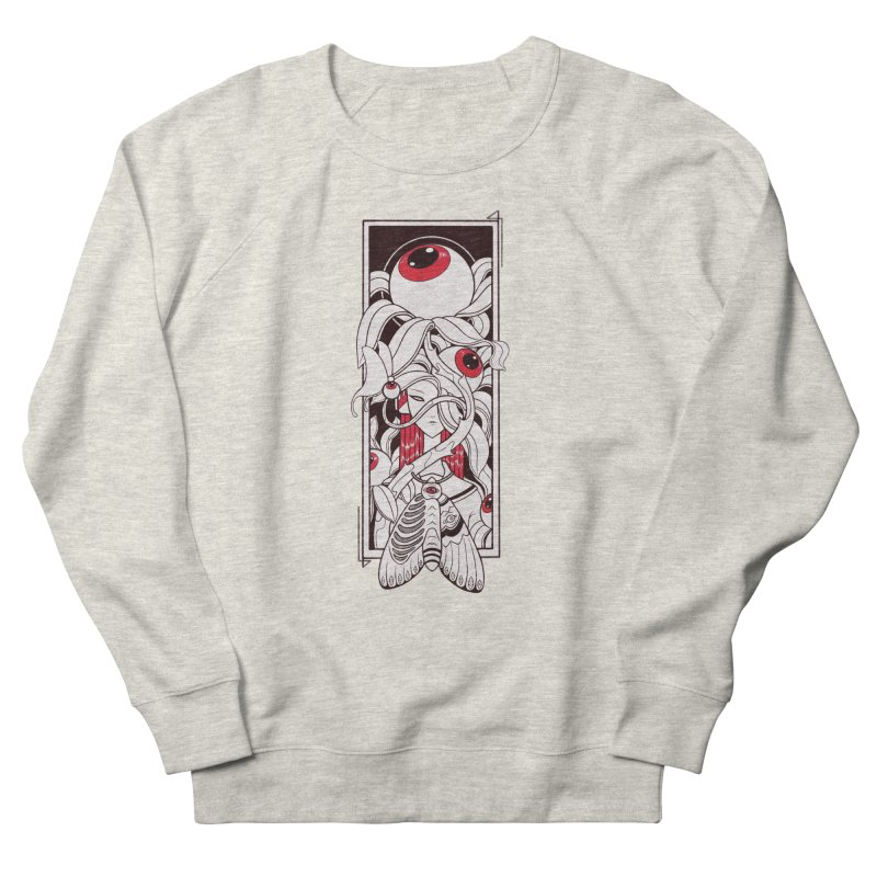 garden of anatomy Women's French Terry Sweatshirt by makapa's Artist Shop