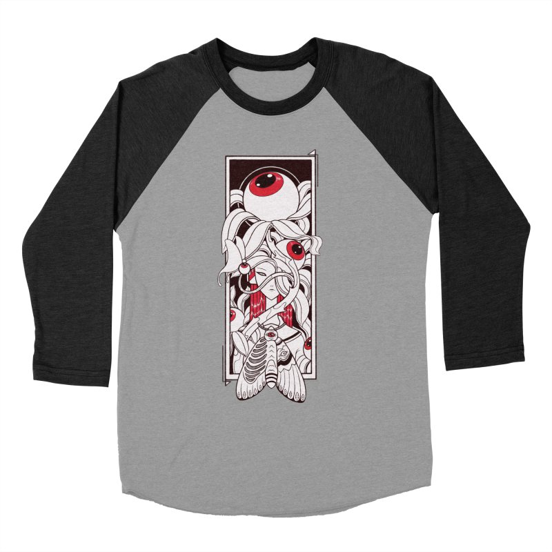 garden of anatomy Women's Baseball Triblend Longsleeve T-Shirt by makapa's Artist Shop