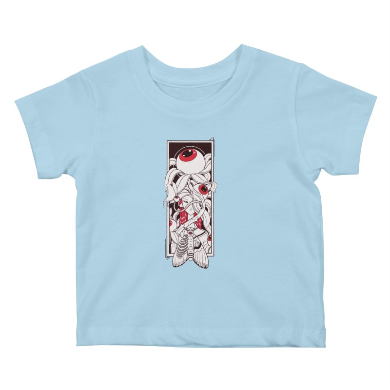 garden of anatomy Kids Baby T-Shirt by makapa's Artist Shop